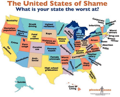 What is your state worst at