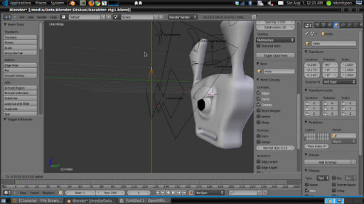 Custom Shape Rig Blender 2.53 Beta 4