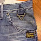 Detaljer på G-star jeans