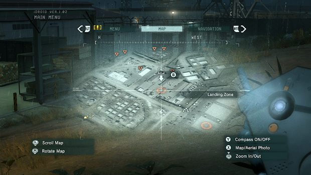 Konami reveals iDroid second screen functions for Metal Gear Solid V: Ground Zeroes