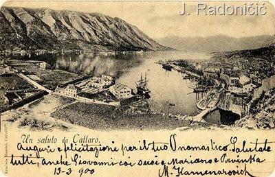 Panorama Kotora 1900