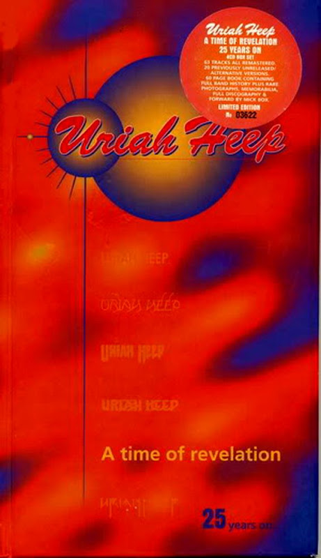 Uriah Heep: A Time Of Revelation - 25 Years On ... - 1996