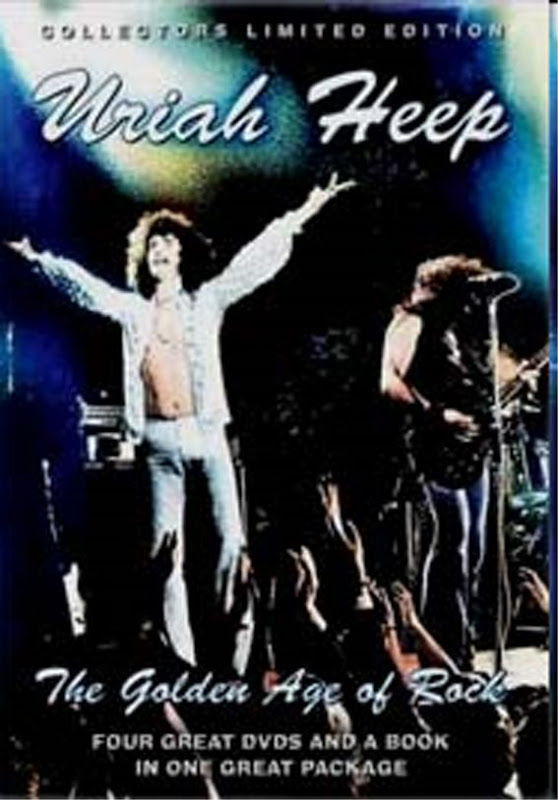 Uriah Heep: The Golden Age Of Rock - 4 DVD & Book Box 2008