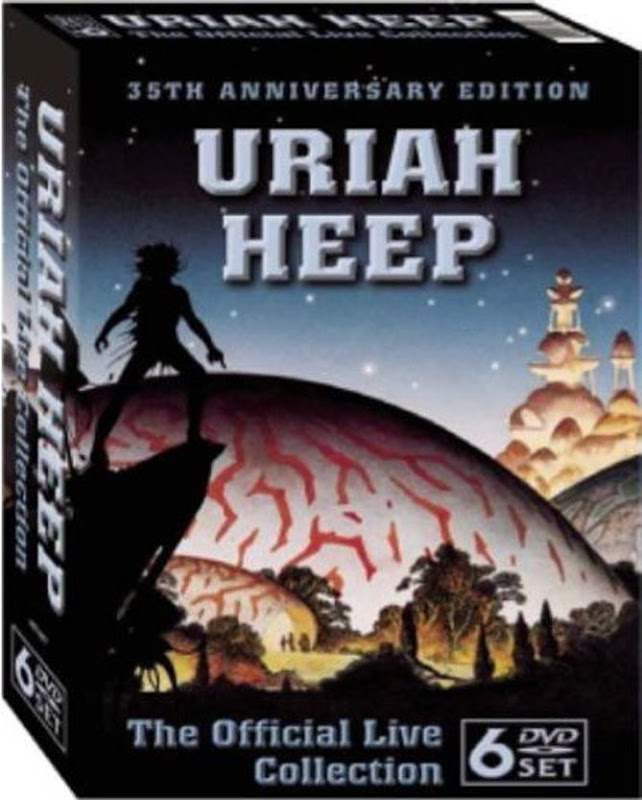 Uriah Heep: The Official Live Collection: 6 DVD BOX 2005