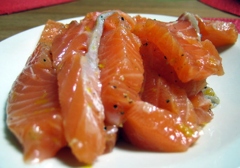 The salmon will taste light, citrusy, a little sweet, a little salty, and very satisfying.