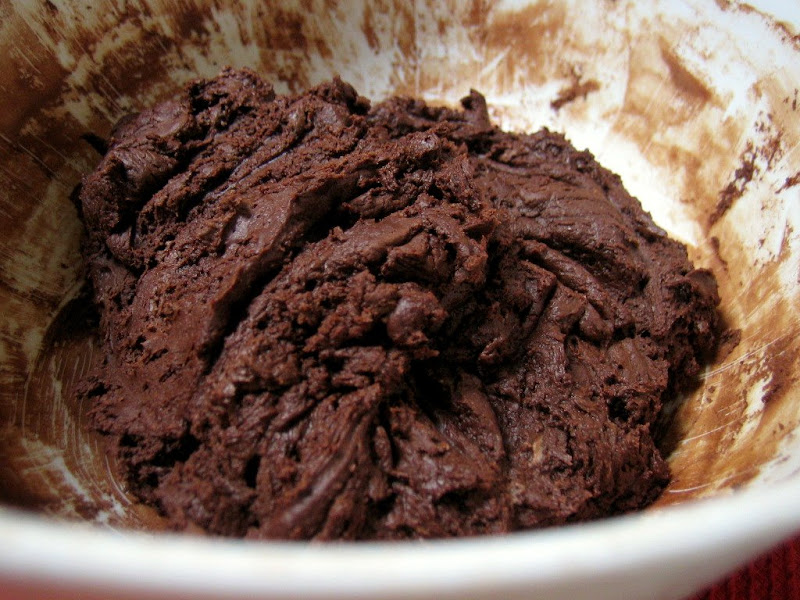 double chocolate cookie dough