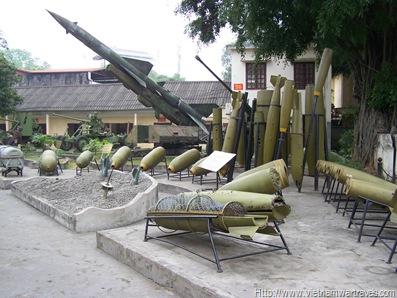 Vietnam Military History Museum Vietnam War American Bombs
