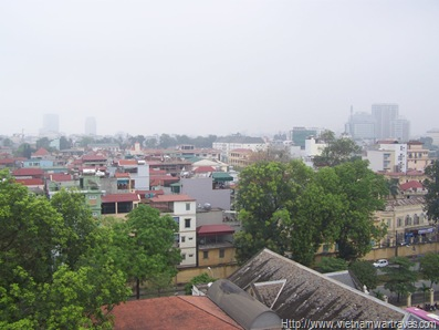 Hanoi Citadel Cot Co (Flag Tower) View (3)