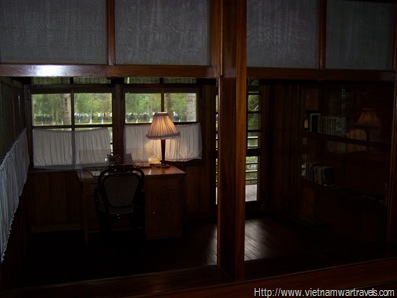 Ho Chi Minh Stilt House Bedroom & Study (3)