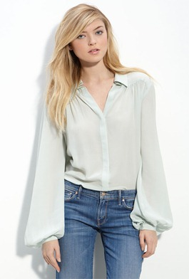 Winter-Kate-Tilapia-Chiffon-Blouse-Mint-Green