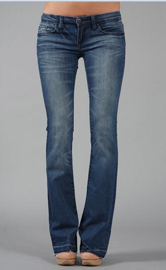 Blank Denim Happy Trail 5 Pocket Belle Bottom Jean