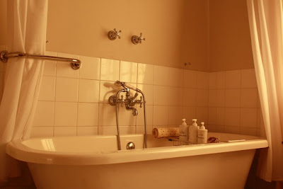 Bathroom at Ceylon Tea Trails in Sri Lanka