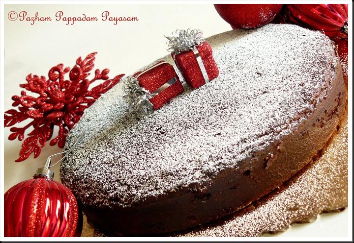 X'mas special caramel cake