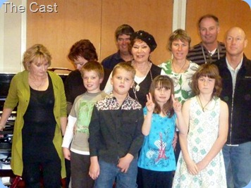 Carole Littlejohn's students and parents after the Concert. Photo courtesy of Colleen Kerr