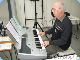Peter Brophy playing the Korg Pa1X