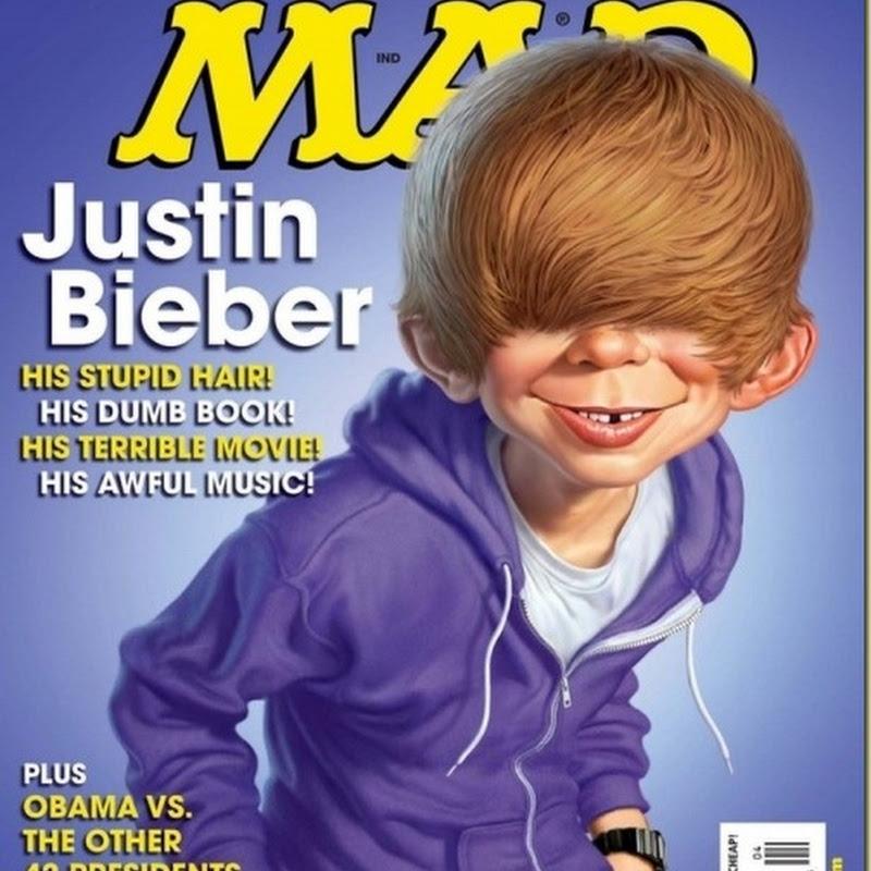 Mad detona Justin Bieber