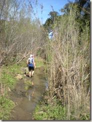 PCTR Malibu Creek single track mud