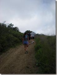 OC Chili Winter Trail Run Series hill