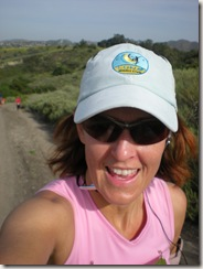 OC Trail Run self portrait