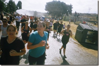 camp pendleton mud run run through hoses