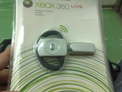 [Xbox360]無線耳麥終於入手啦!