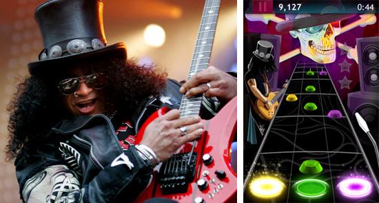 Slash lança seu próprio game para iPhone e vira concorrente de Guitar Hero