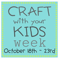 craft with kids week button