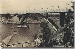 Färjsundsbron 4 juli 1937