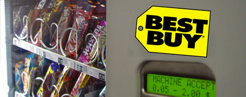 Best Buy Vending Machine