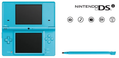 blue DSi
