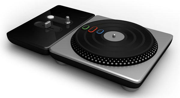 DJ Hero Controller