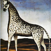 N. Pirosmani. Giraffe.