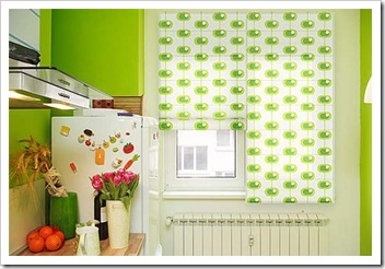 kitchen-curtains-green