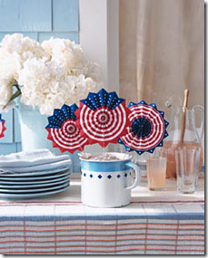 printable 4th of July fans