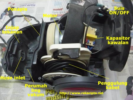 vacuum cleaner disassemble 2