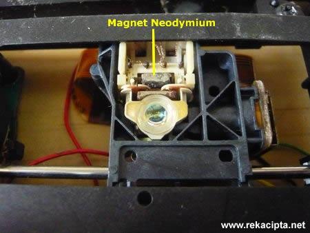 Rekacipta.net - Magnet Neodymium Pemacu CD DVD