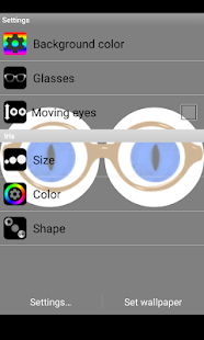 Eyes LWP - screenshot