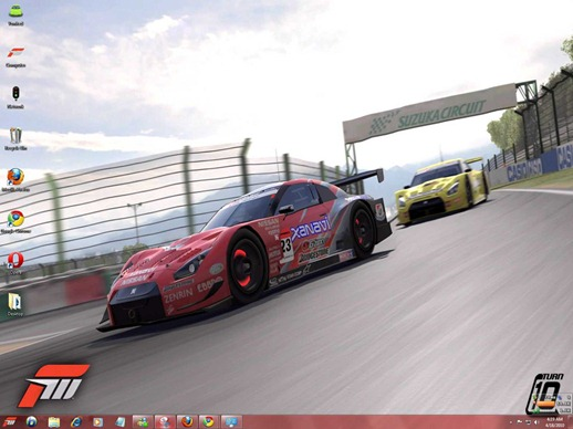 Download Free Windows 7 ThemeForza Motorsport 3 Cars Sounds Icons Cursors StartOrb