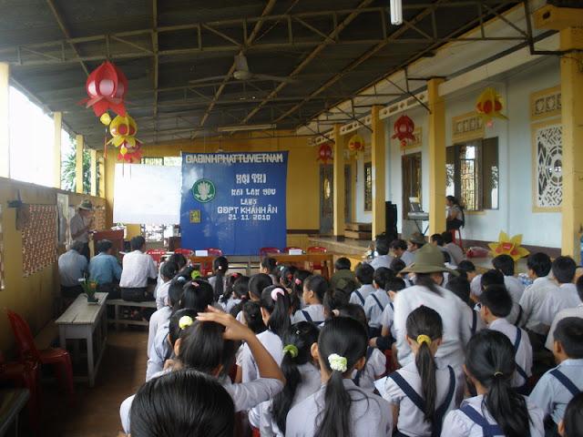 Hội thi Mái Lam Yêu GĐPT Khánh Ân
