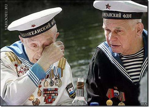 День Победы моряки