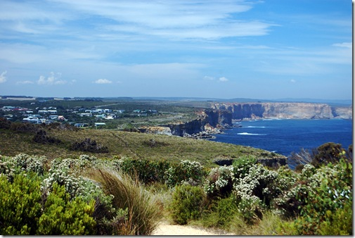 Port Campbell from Two Mile Bay