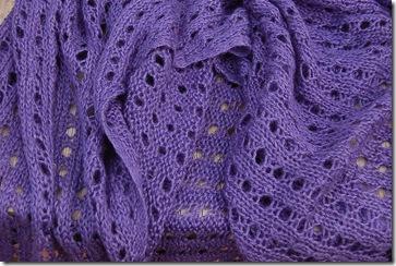 Jill's shawl