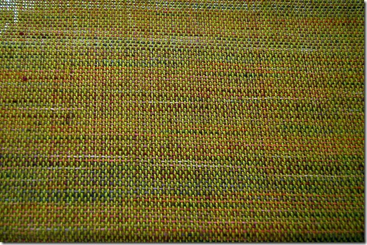 Alpaca project - skirt layer weaving