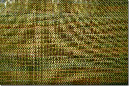 Alpaca project - skirt layer weaving