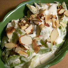 Creamed Celery With Blue Cheese