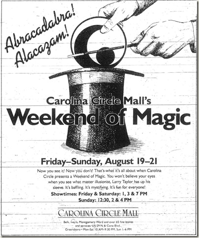 Weekend of Magic August 1988