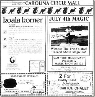 Sam the Magic Man June 1987