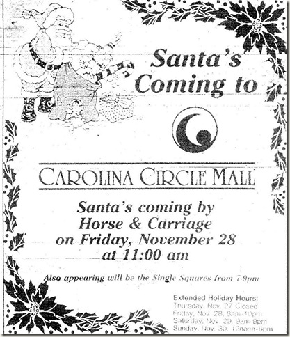 Christmas Ad November 1997