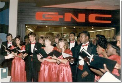 Page High School Choir December 1985 1