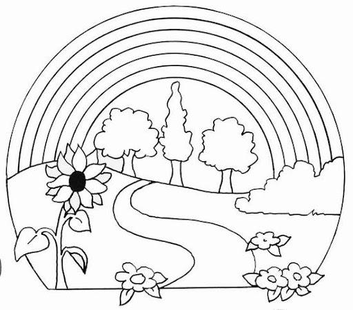 Elementos de la naturaleza para colorear - Imagui